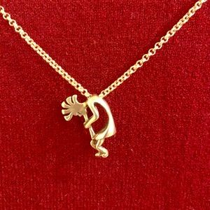 Sterling Silver Kokopelli Pendant and Chain